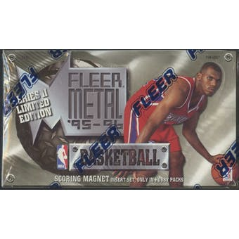 1995/96 Fleer Metal Series 1 Basketball Hobby Box