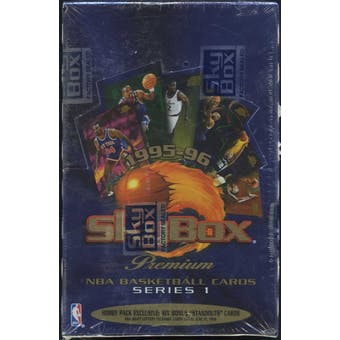 1995/96 Skybox Premium Series 1 Basketball Hobby Box