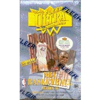 1995/96 Fleer Ultra Series 2 Basketball Hobby Box
