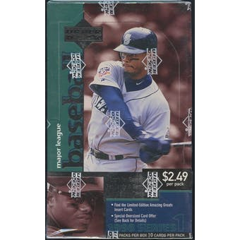 1998 Upper Deck Series 1 Baseball 36 Pack Box