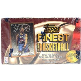 1996/97 Topps Finest Series 1 Basketball Hobby Box