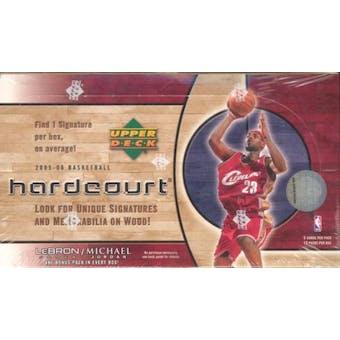 2005/06 Upper Deck Hardcourt Basketball Hobby Box