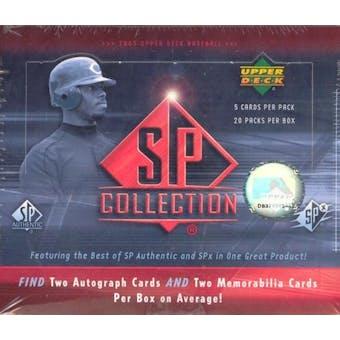 2005 Upper Deck SP Collection Baseball Hobby Box