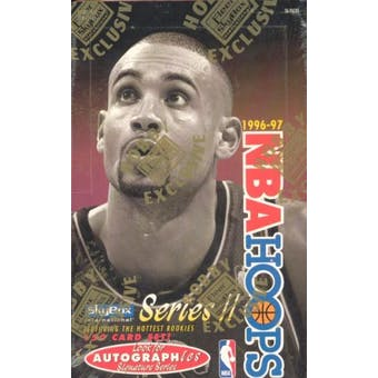 1996/97 Hoops Series 2 Basketball Hobby Box