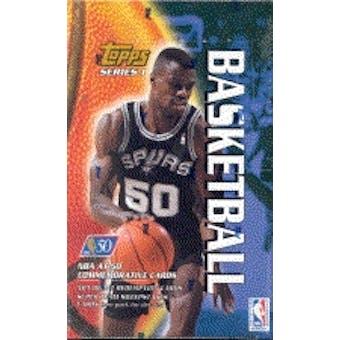 1996/97 Topps Series 1 Basketball Hobby Box