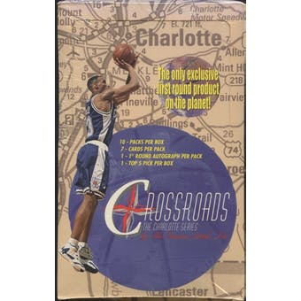 1997/98 Crossroads The Charlotte Series Basketball Hobby Box