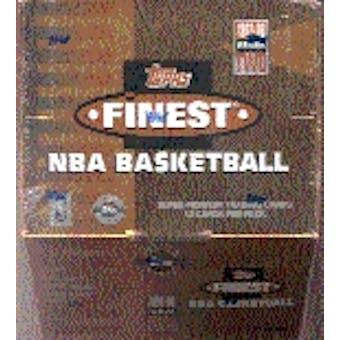 1997/98 Topps Finest Series 2 Basketball Jumbo Box