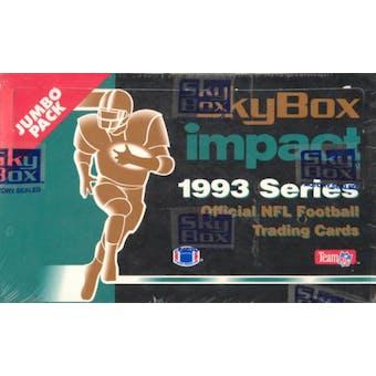 1993 Skybox Impact Football Jumbo Box