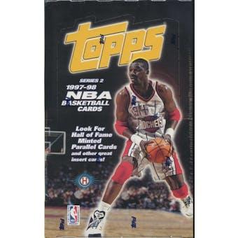1997/98 Topps Series 2 Basketball Hobby Box