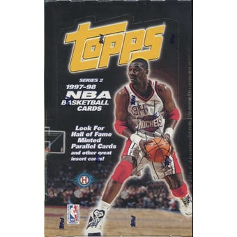 1997/98 Topps Series 2 Basketball Hobby Box