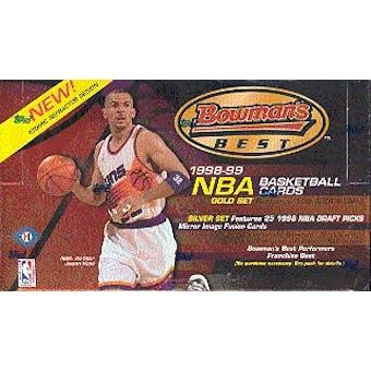 1998/99 Bowman's Best Basketball Hobby Box