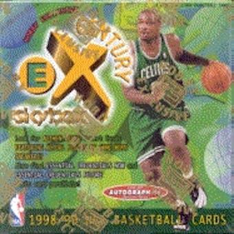1998/99 Fleer E-X Century Basketball Hobby Box