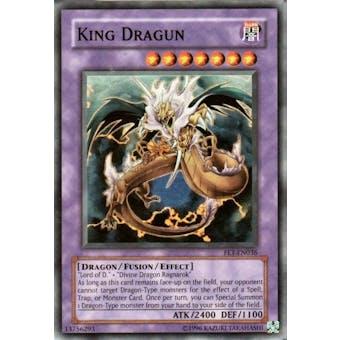 Yu-Gi-Oh Flaming Eternity Single King Dragun Super Rare (FET-036)