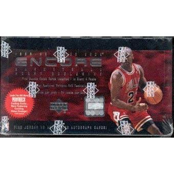 1998/99 Upper Deck Encore Basketball Hobby Box