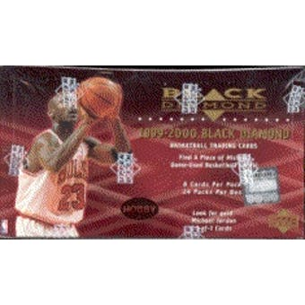 1999/00 Upper Deck Black Diamond Basketball Hobby Box