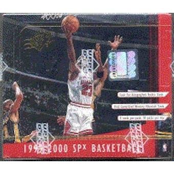 1999/00 Upper Deck SPx Basketball Hobby Box