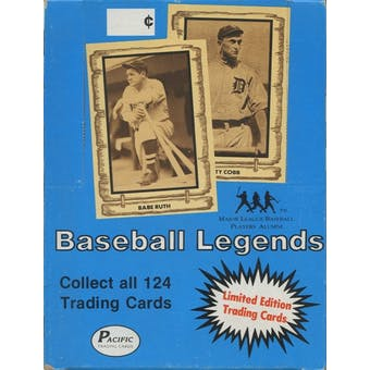 1980-86 Pacific Legends Baseball Box