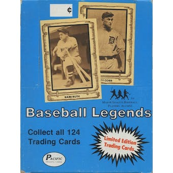 1980-86 Pacific Legends Baseball Box