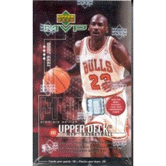 1999/00 Upper Deck MVP Basketball Prepriced Box