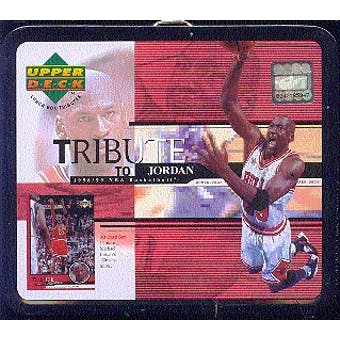 1998/99 Upper Deck Tribute To Jordan Basketball Lunch Box Factory Set (box)