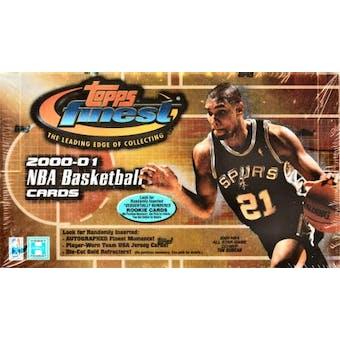 2000/01 Topps Finest Basketball Hobby Box