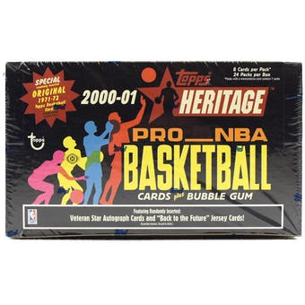 2000/01 Topps Heritage Basketball Hobby Box
