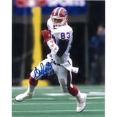 Andre Reed Autographed Buffalo Bills 8x10 Football Photo with HOF inscription
