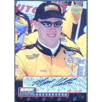 2000 Upper Deck Victory Circle Signature Collection #MK Matt Kenseth Autograph