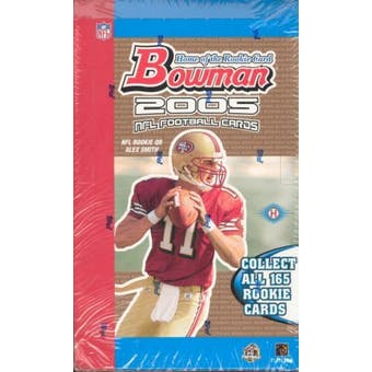2005 Bowman Football Hobby Box