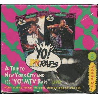 Super Stars Yo! MTV Raps Box (ProSet - 1992)