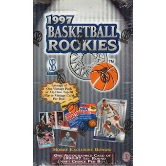 1997 Scoreboard Rookies Basketball Hobby Box