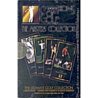 1997 Grand Slam Ventures Golf The Masters Collection Set (Black Box) Tiger !