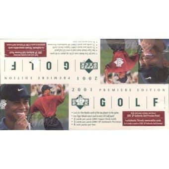 2001 Upper Deck Golf Rack Box (Reed Buy)