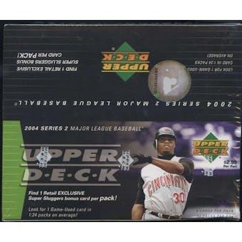 2004 Upper Deck Series 2 Baseball 24 Pack Box