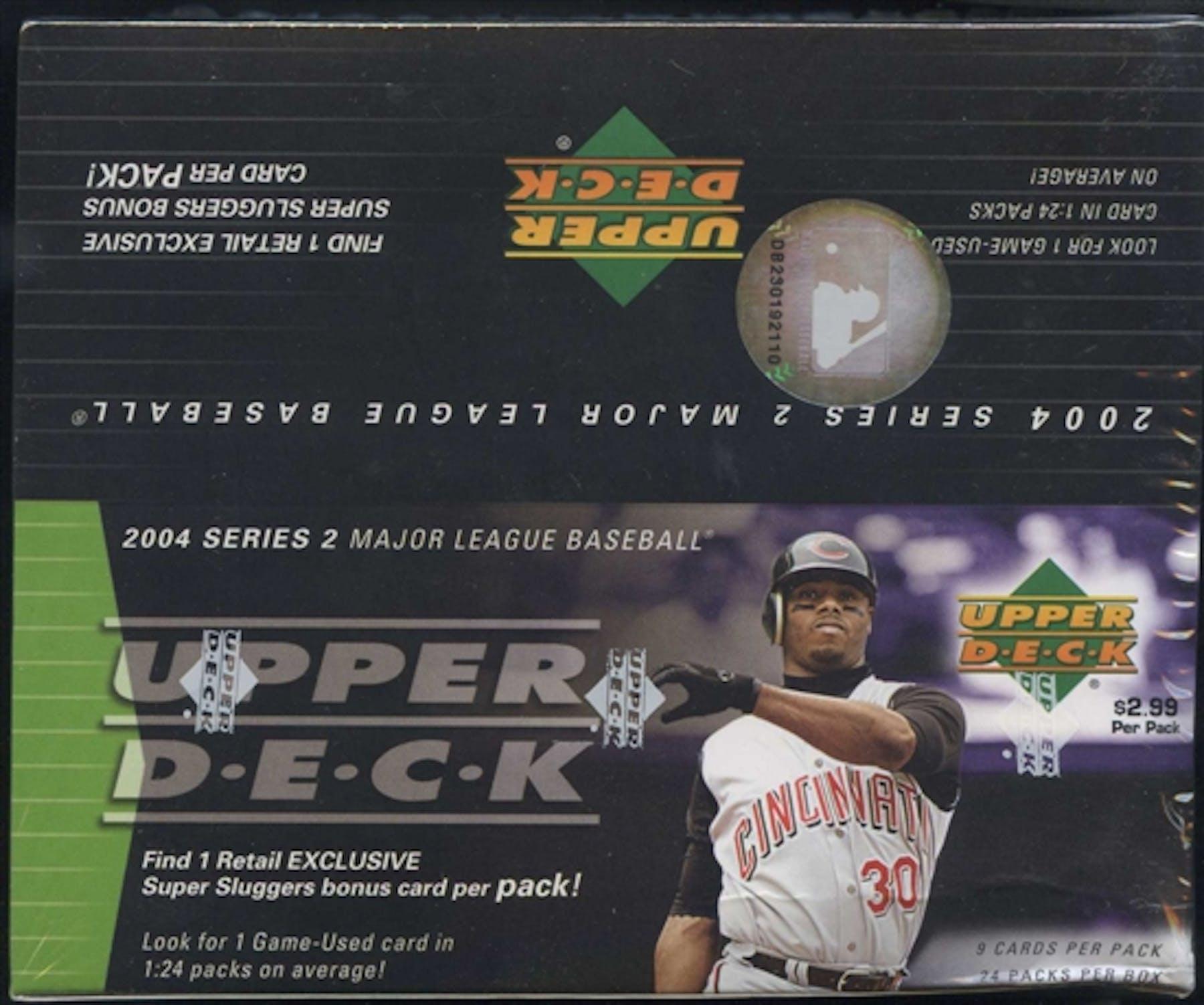 2004 Upper Deck Series 2 Baseball 24 Pack Box Da Card World