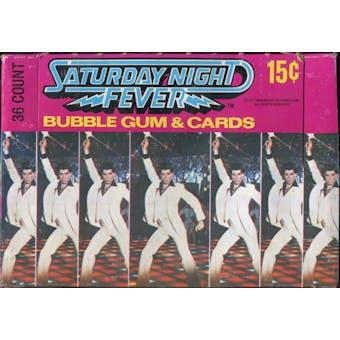 Saturday Night Fever Wax Box (1977 Donruss)