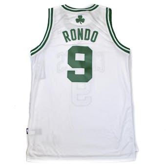 Boston Celtics Rajon Rondo Adidas White Swingman #9 Jersey (Adult XL)