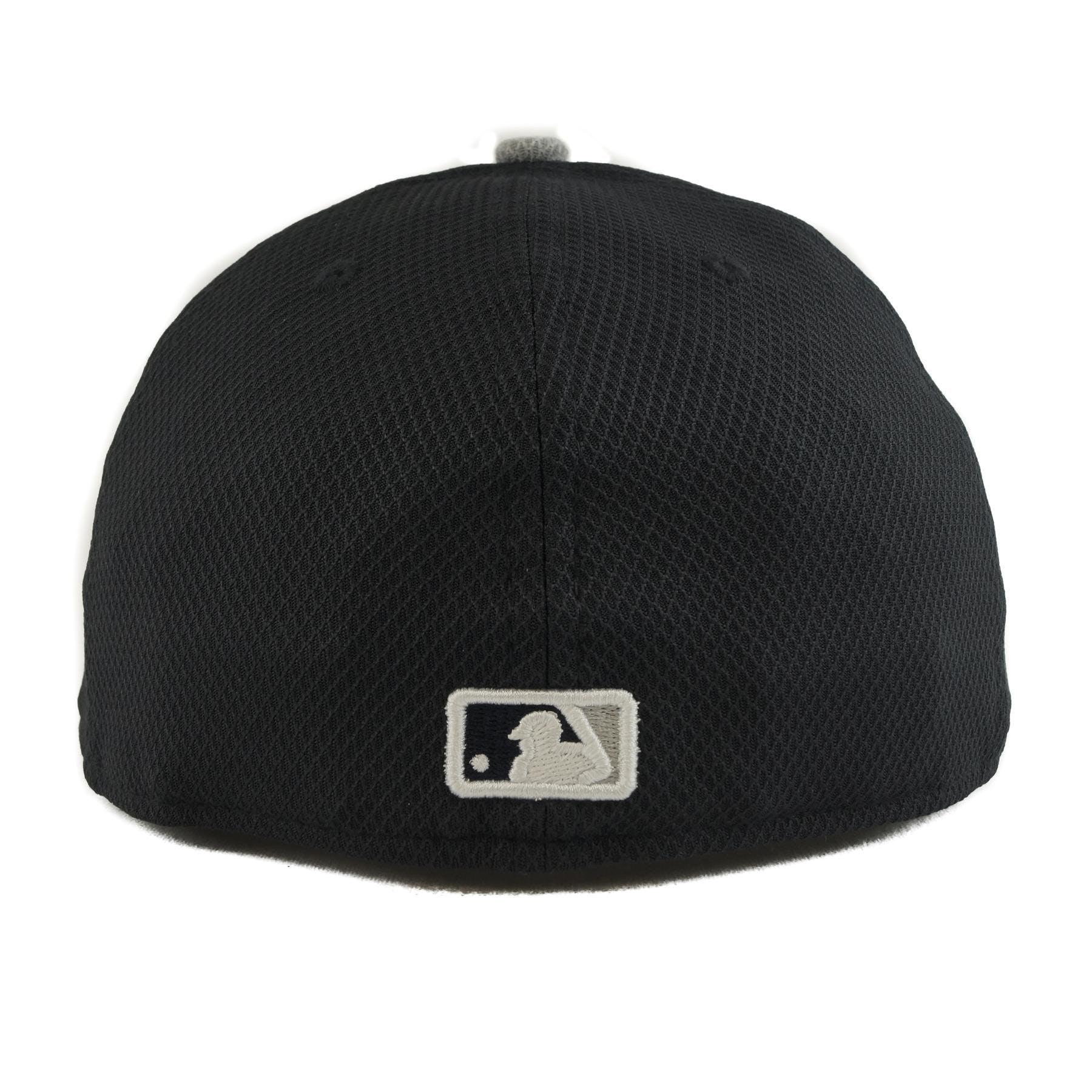 e0ec65fb0de06 New York Yankees New Era Diamond Era 59Fifty Fitted Navy   Gray Hat ...
