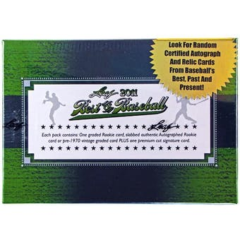2011 Leaf Best of Baseball Hobby Box