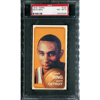 1970/71 Topps Basketball #125 Dave Bing PSA 8 (NM-MT) *3048