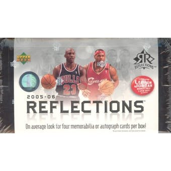 2005/06 Upper Deck Reflections Basketball Hobby Box