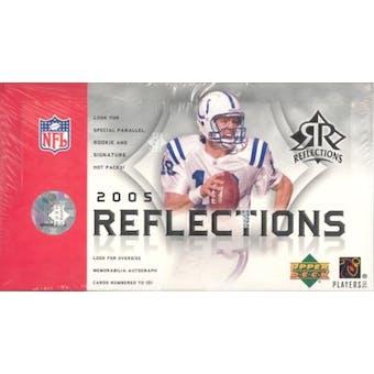 2005 Upper Deck Reflections Football Hobby Box