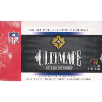 2005 Upper Deck Ultimate Collection Football Hobby Box