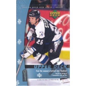2005/06 Upper Deck Series 1 Hockey Hobby Box