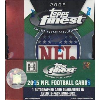 2005 Topps Finest Football Hobby Box