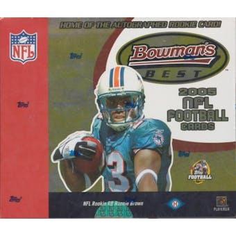 2005 Bowman's Best Football Hobby Box