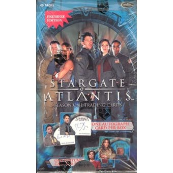Stargate Atlantis Season 1 Trading Cards Box (Rittenhouse 2006)