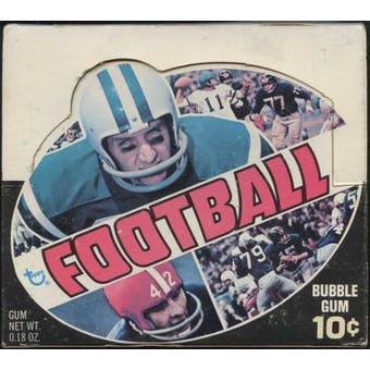 1970 Topps Football Wax Box (Prices may vary by series)