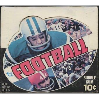 1970 Topps Football Wax Box (Series 1 or 2)