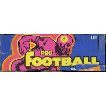 1973 Topps Football Wax Box